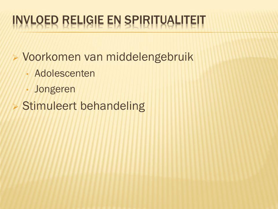 Invloed religie en spiritualiteit