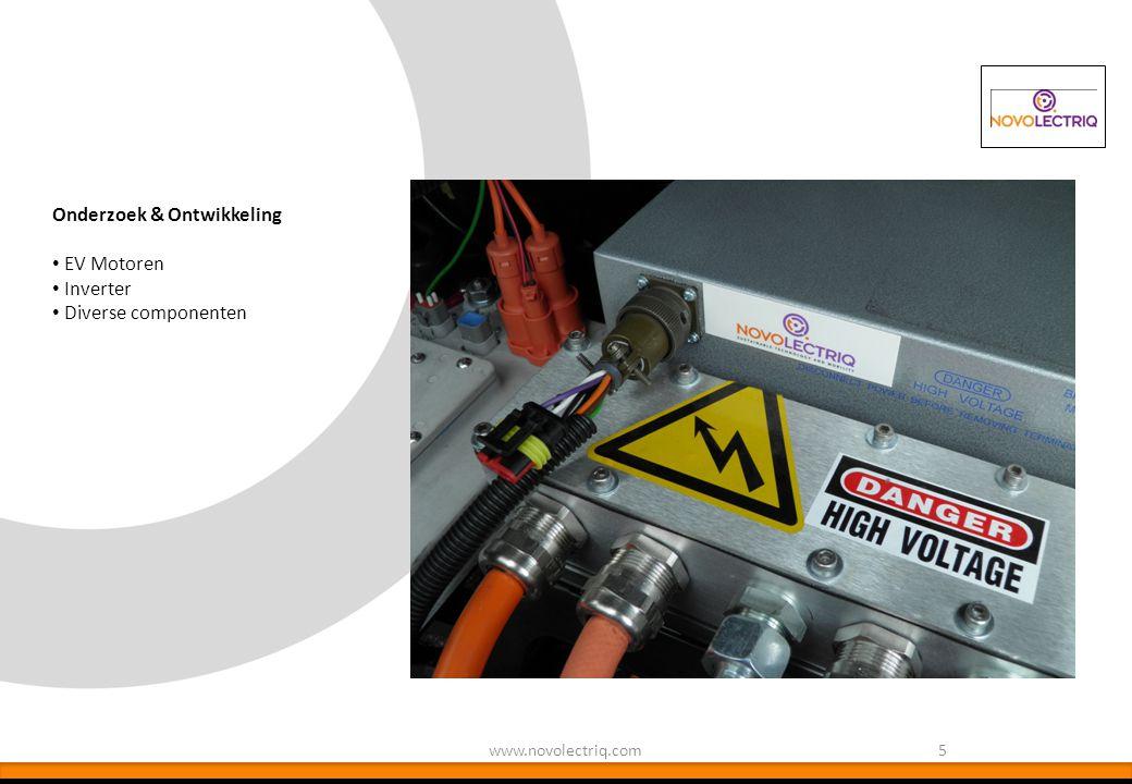 Onderzoek & Ontwikkeling EV Motoren Inverter Diverse componenten