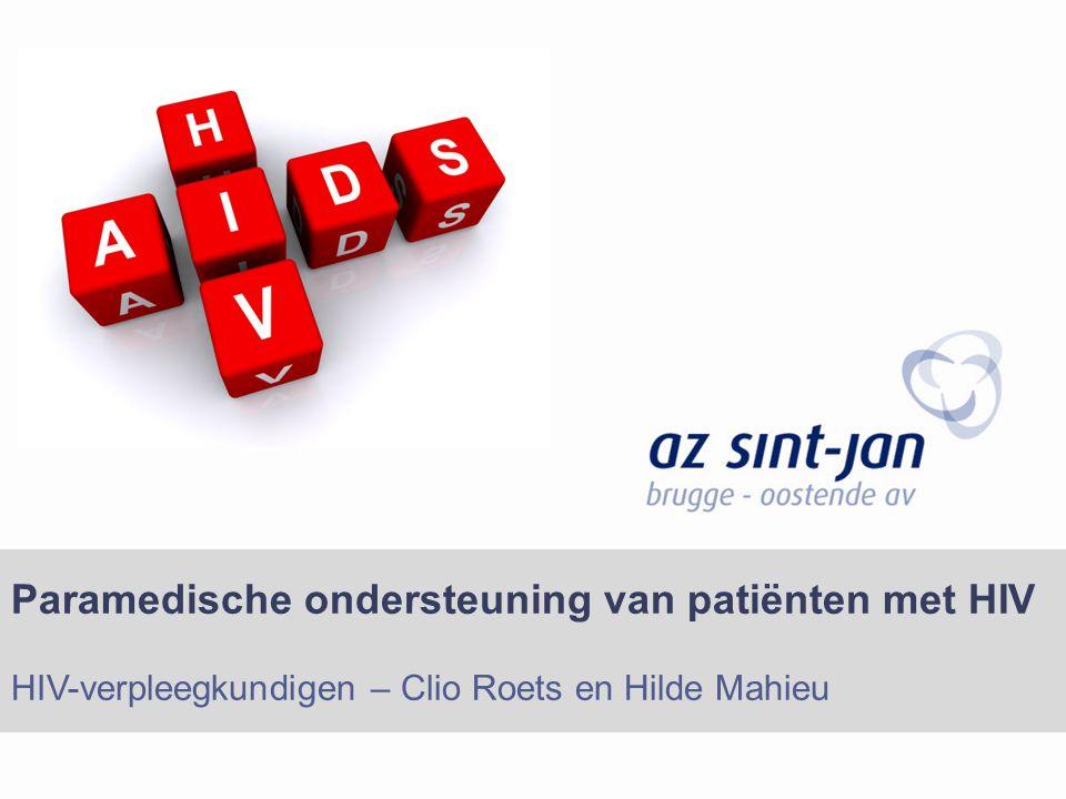 Paramedische ondersteuning van patiënten met HIV