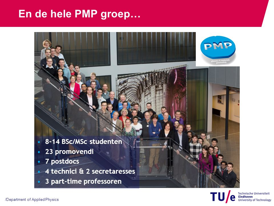 Wat zijn plasma's PMP group members - + + - - + - - +