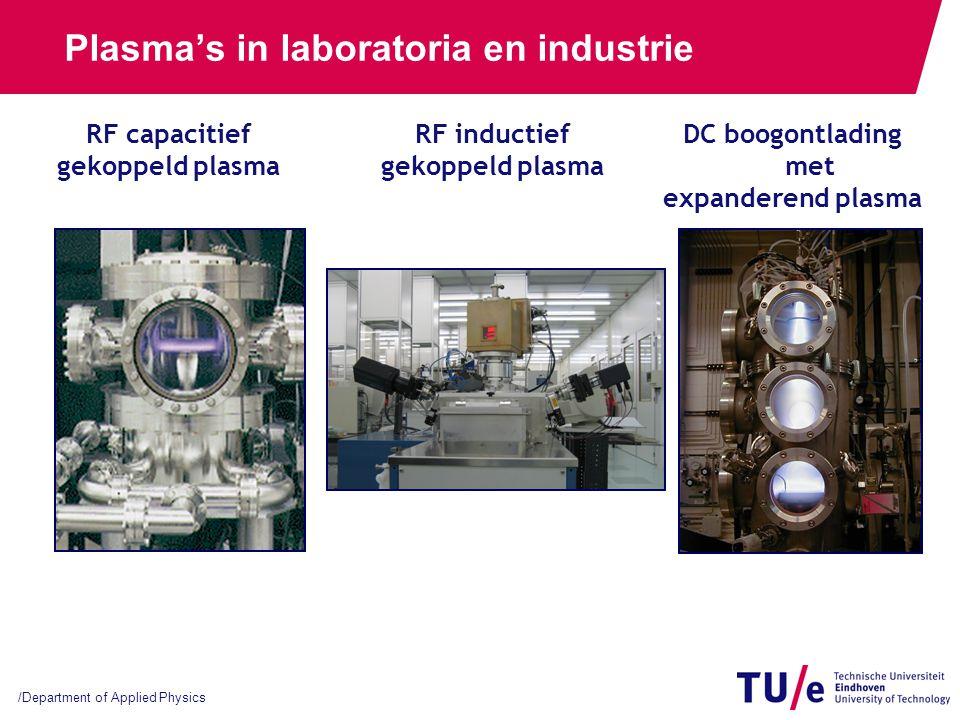 Waar worden plasma's gebruikt