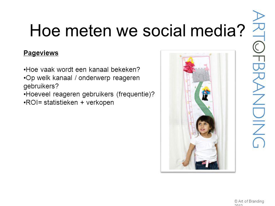 Hoe meten we social media