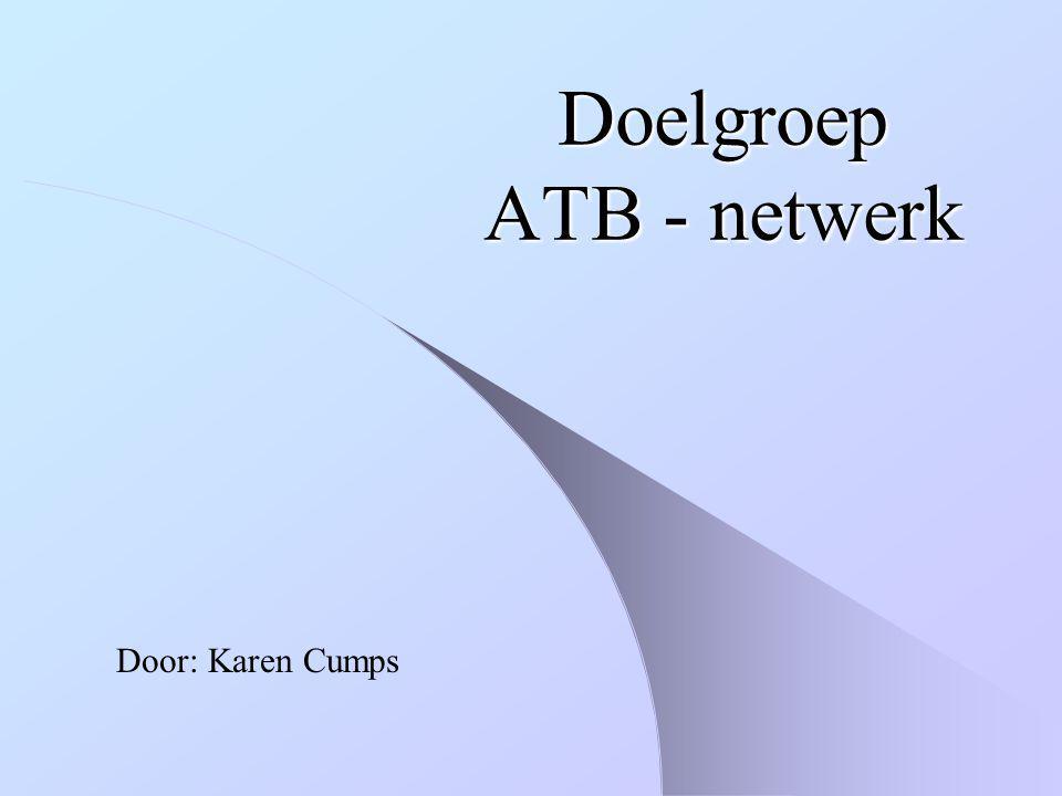 Doelgroep ATB - netwerk
