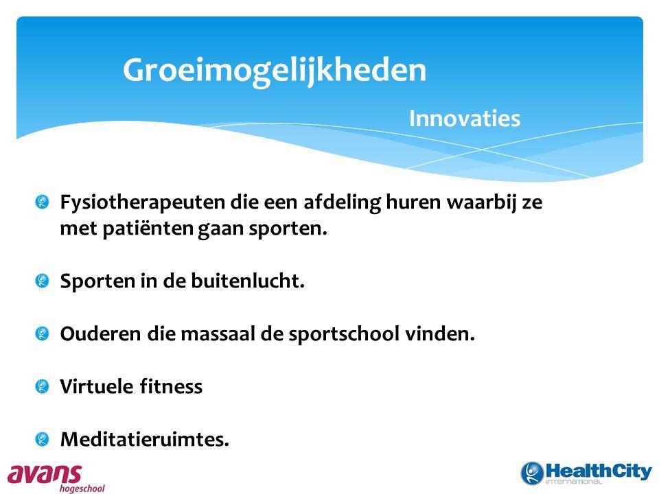 Groeimogelijkheden Innovaties