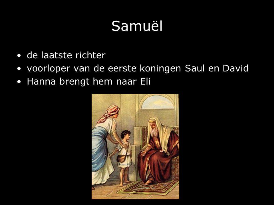 Samuël de laatste richter