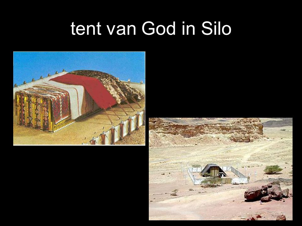 tent van God in Silo