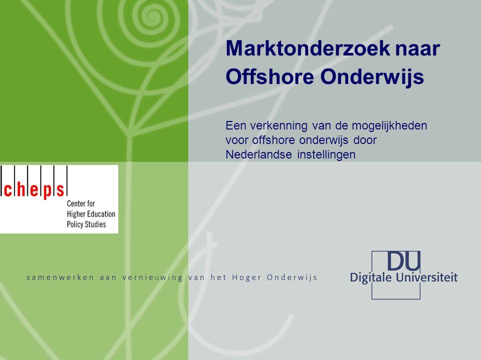 Marktonderzoek naar Offshore Onderwijs