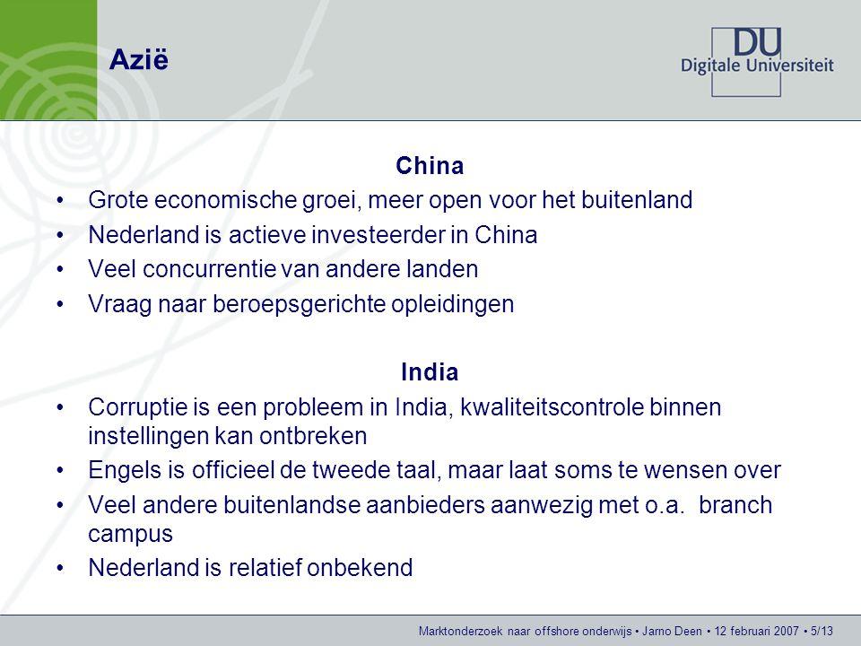 Azië China Grote economische groei, meer open voor het buitenland