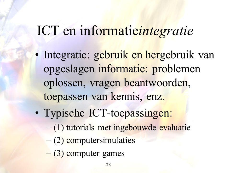 ICT en informatieintegratie
