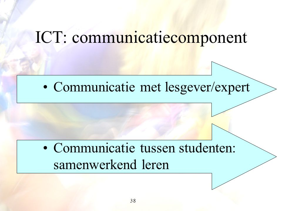 ICT: communicatiecomponent