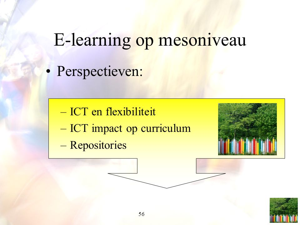 E-learning op mesoniveau