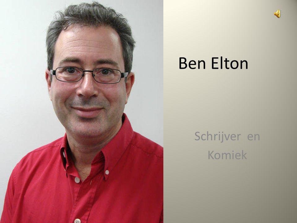 Ben Elton Schrijver en Komiek
