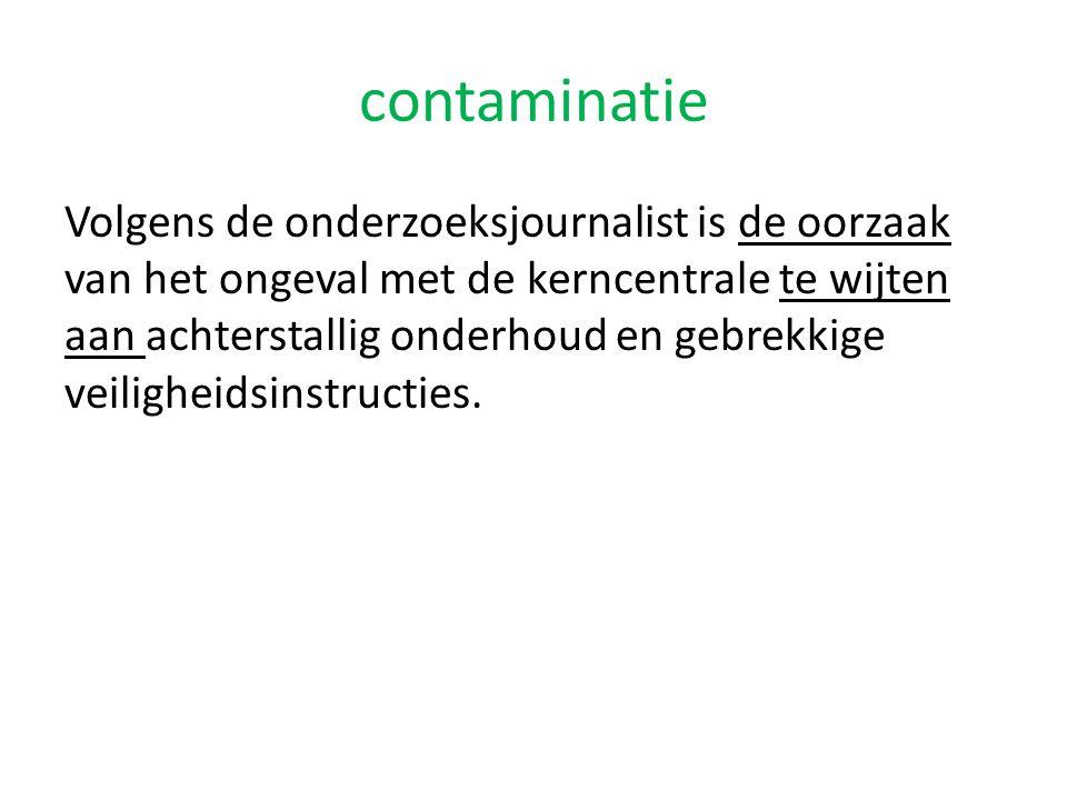 contaminatie