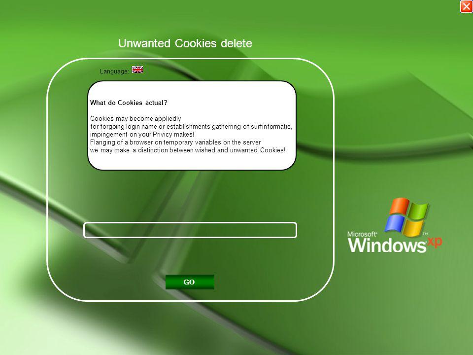 Unwanted Cookies delete