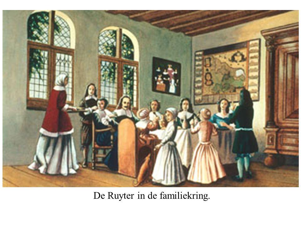 De Ruyter in de familiekring.