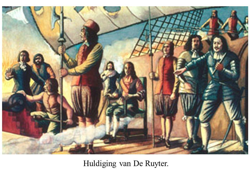 Huldiging van De Ruyter.