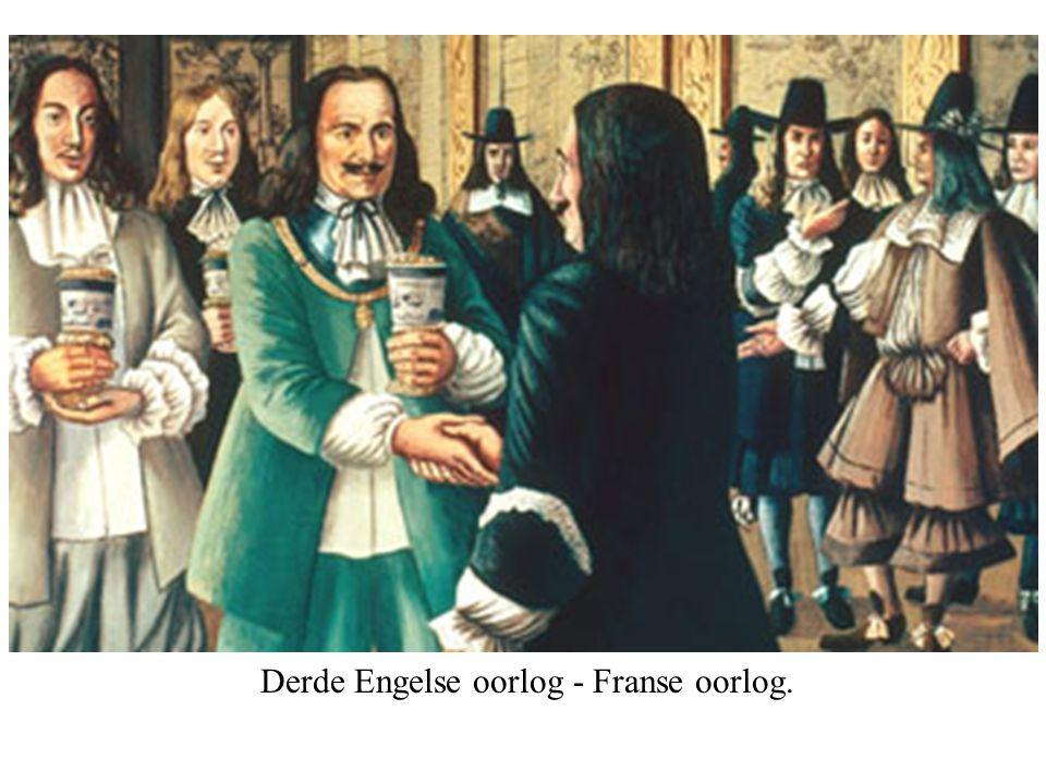 Derde Engelse oorlog - Franse oorlog.