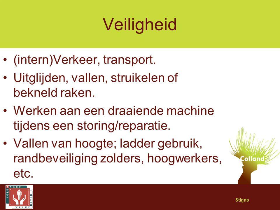 Veiligheid (intern)Verkeer, transport.
