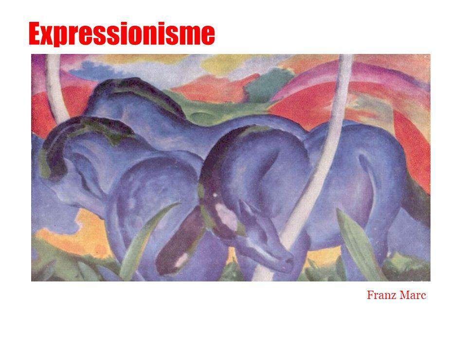 Expressionisme Franz Marc