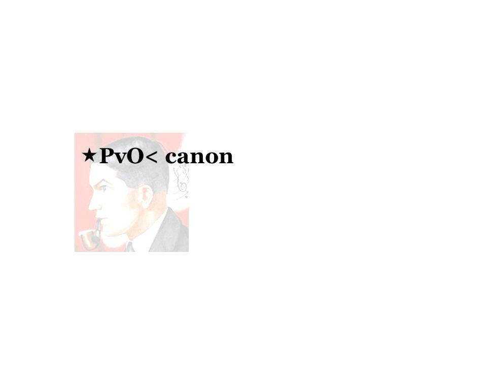 PvO< canon