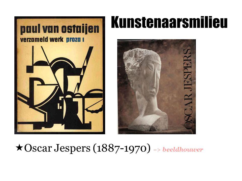 Kunstenaarsmilieu Oscar Jespers (1887-1970) => beeldhouwer
