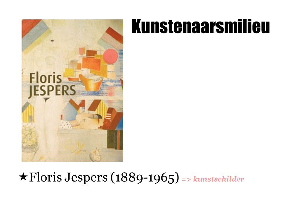 Kunstenaarsmilieu Floris Jespers (1889-1965) => kunstschilder