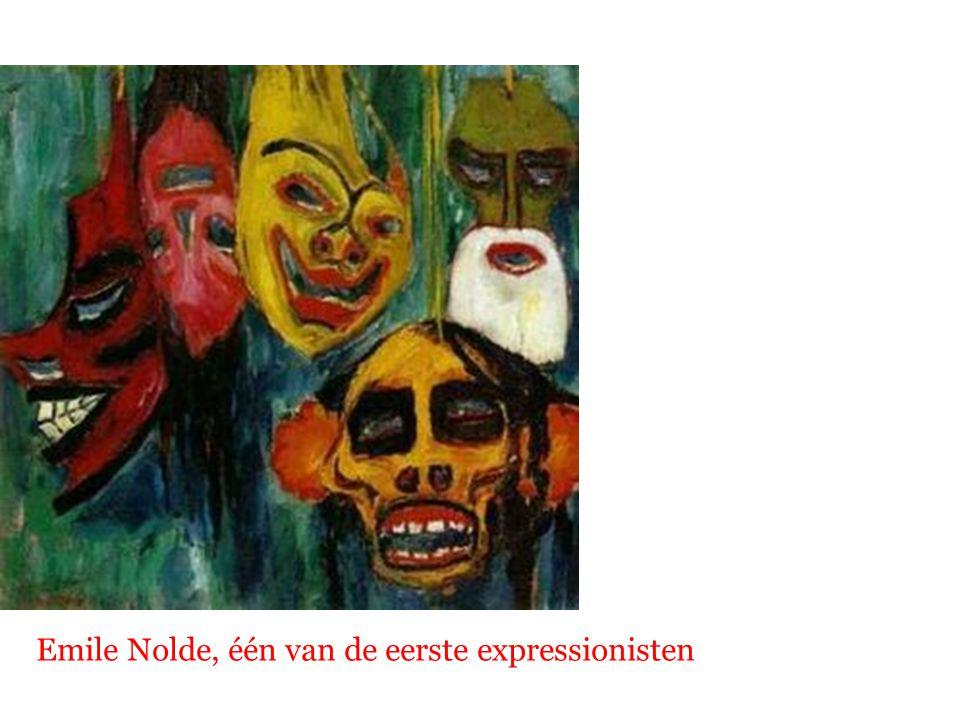 Emile Nolde, één van de eerste expressionisten