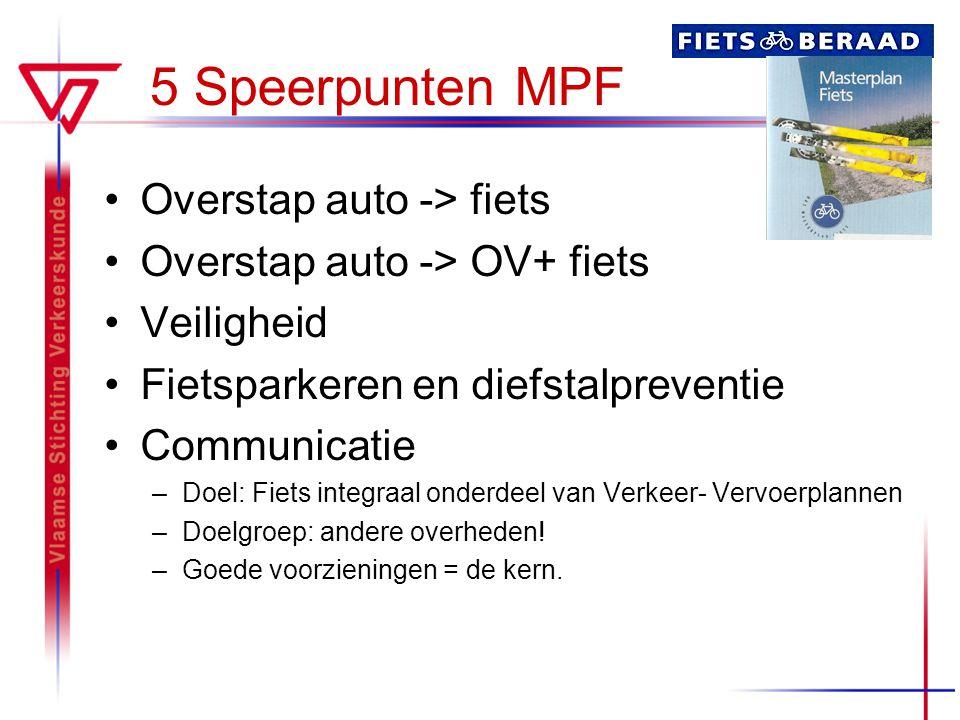 5 Speerpunten MPF Overstap auto -> fiets