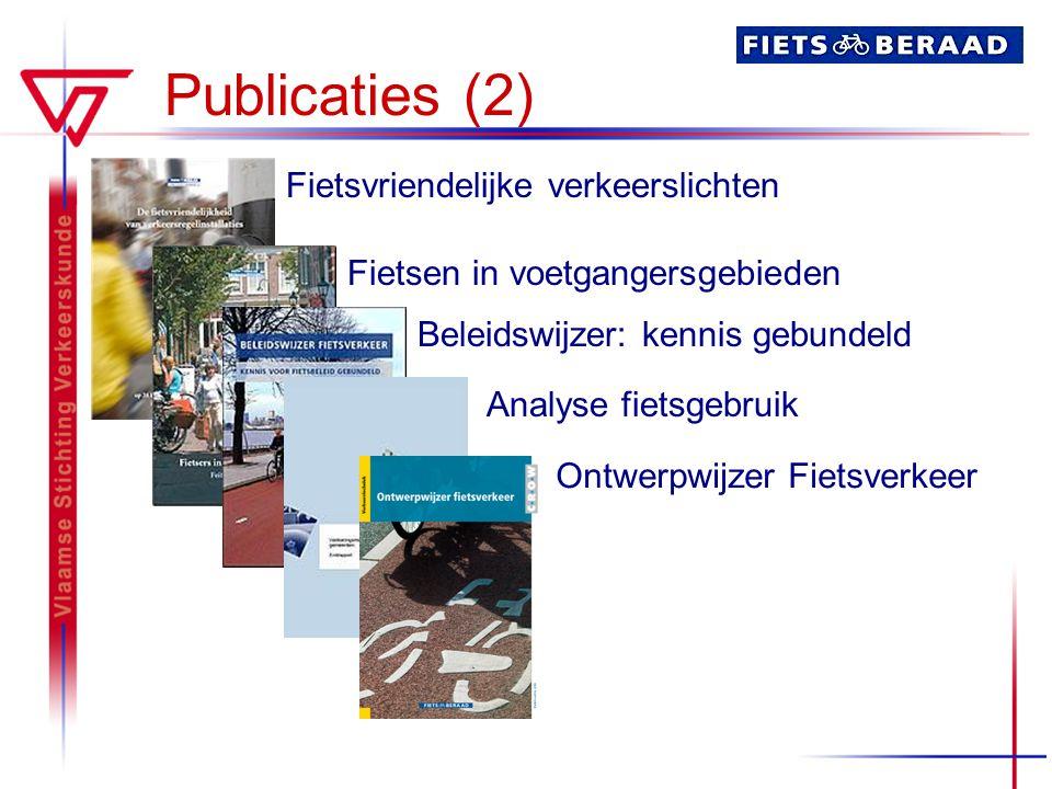 Publicaties (2) Fietsvriendelijke verkeerslichten