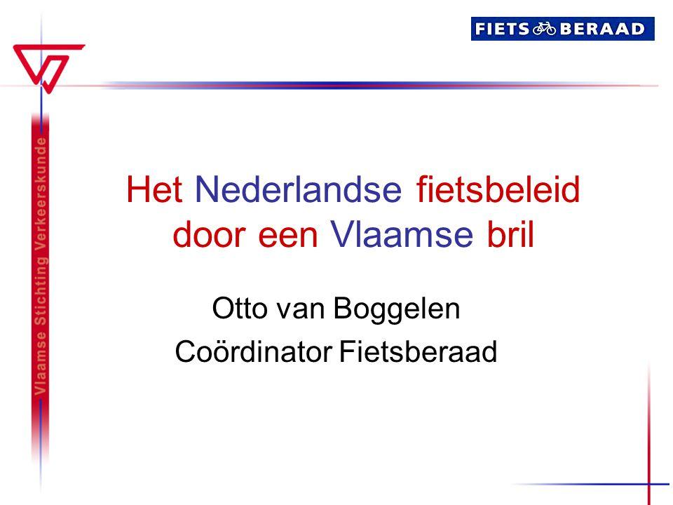 Het Nederlandse fietsbeleid door een Vlaamse bril