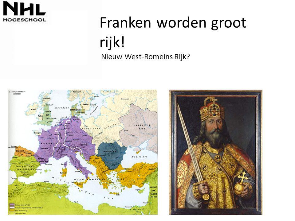 Franken worden groot rijk! Nieuw West-Romeins Rijk