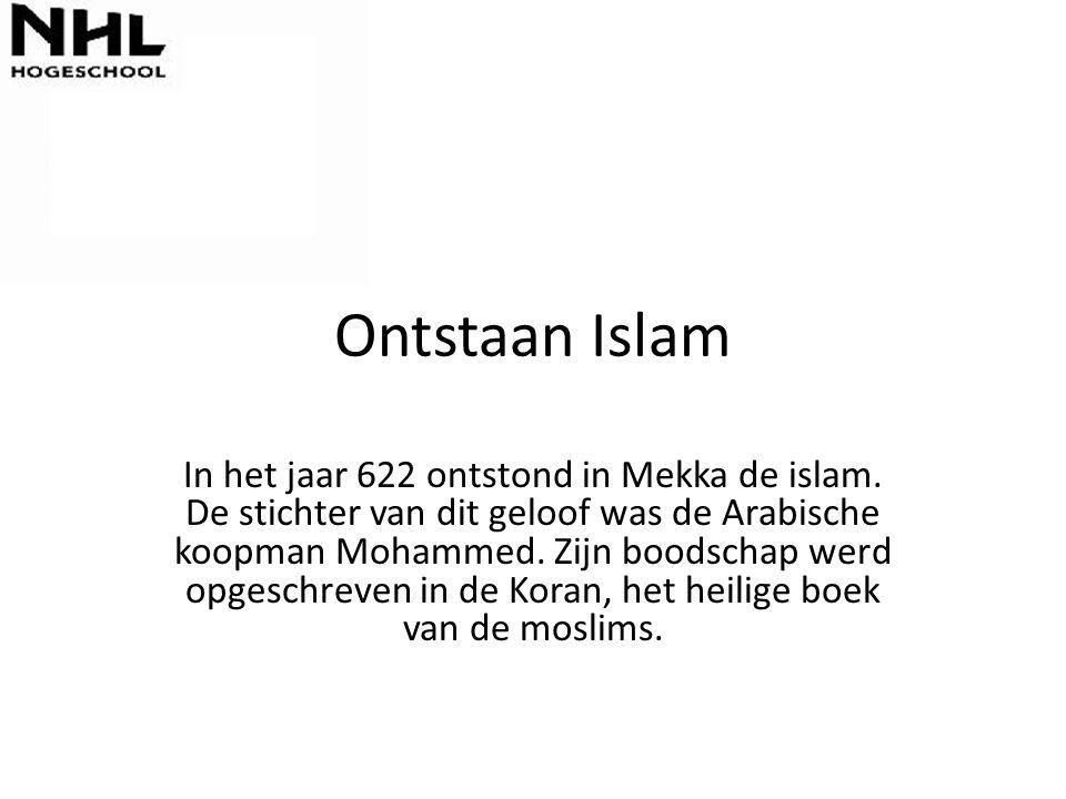 Ontstaan Islam
