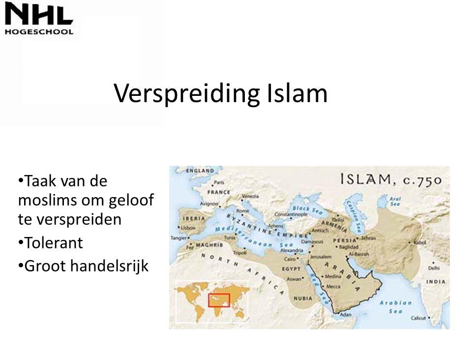 Verspreiding Islam Taak van de moslims om geloof te verspreiden