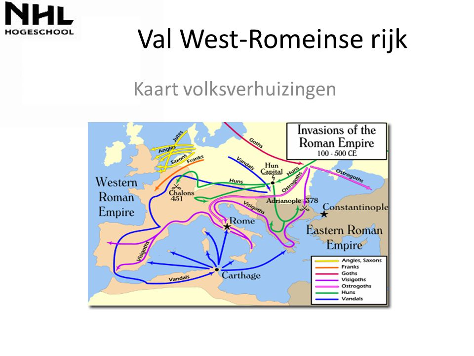 Val West-Romeinse rijk