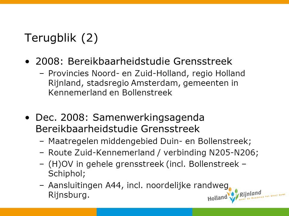 Terugblik (2) 2008: Bereikbaarheidstudie Grensstreek