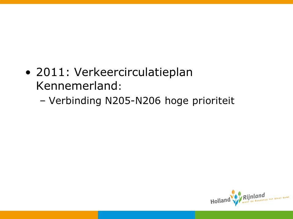 2011: Verkeercirculatieplan Kennemerland: