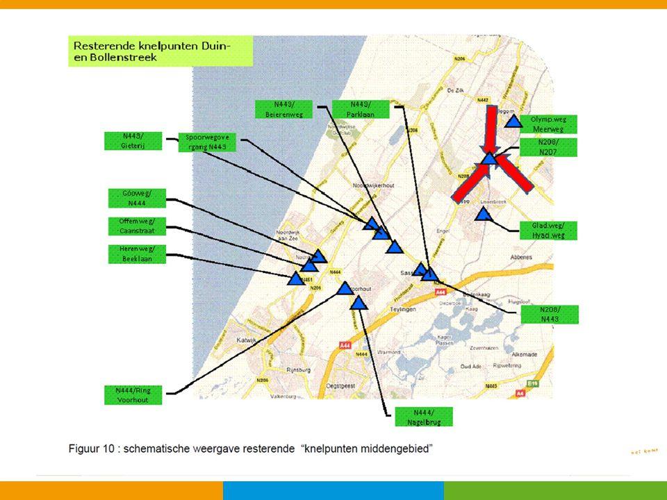 Kaart: maatregelen Middengebied Duin- en Bollenstreek in beeld.