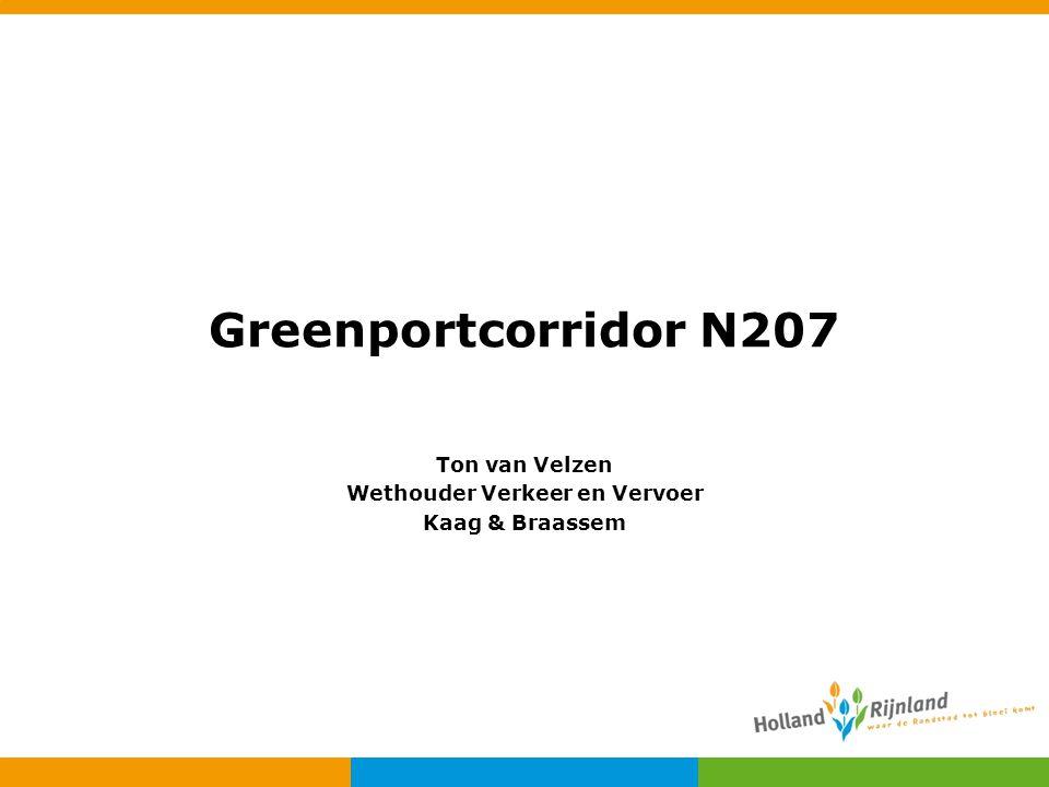Ton van Velzen Wethouder Verkeer en Vervoer Kaag & Braassem