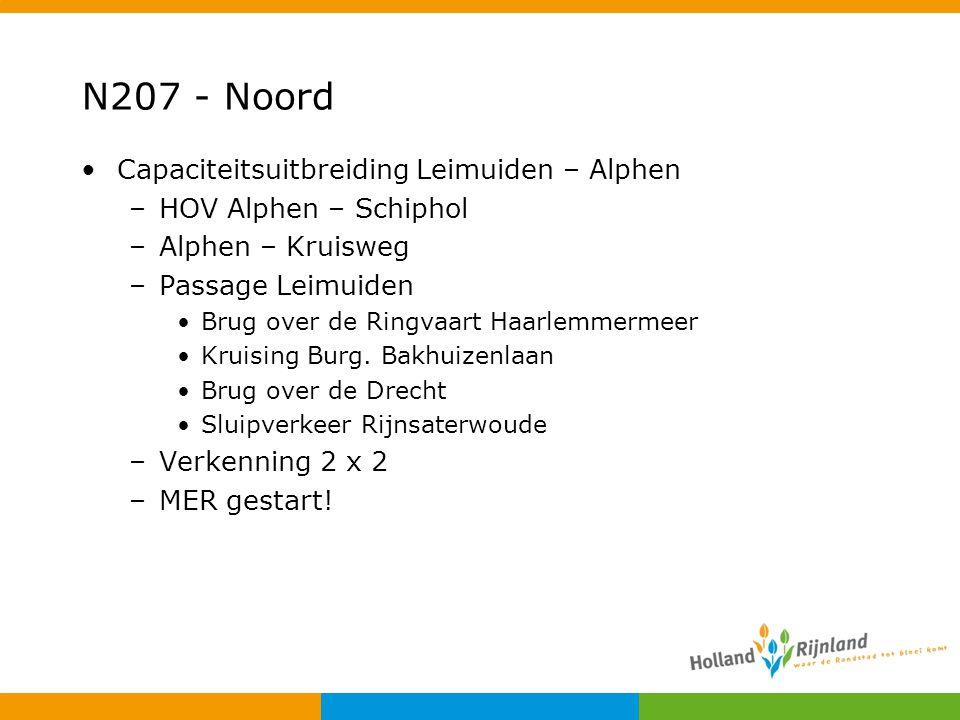 N207 - Noord Capaciteitsuitbreiding Leimuiden – Alphen