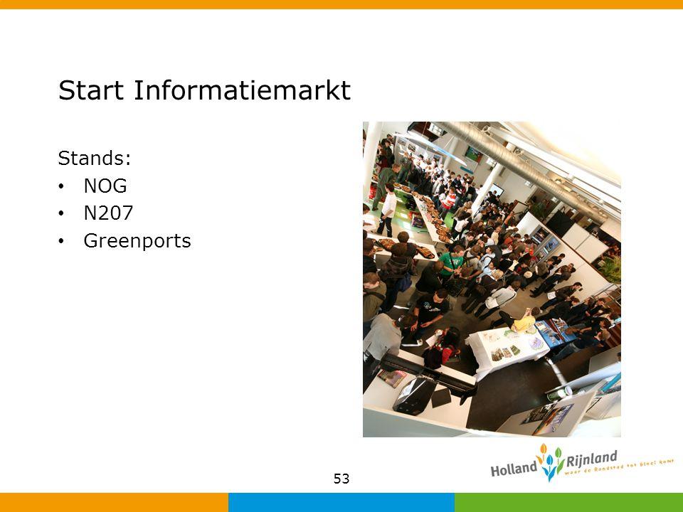 Start Informatiemarkt