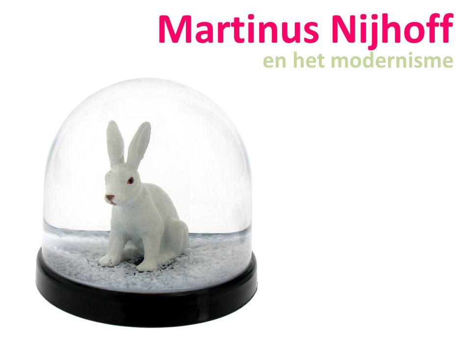 Martinus Nijhoff en het modernisme