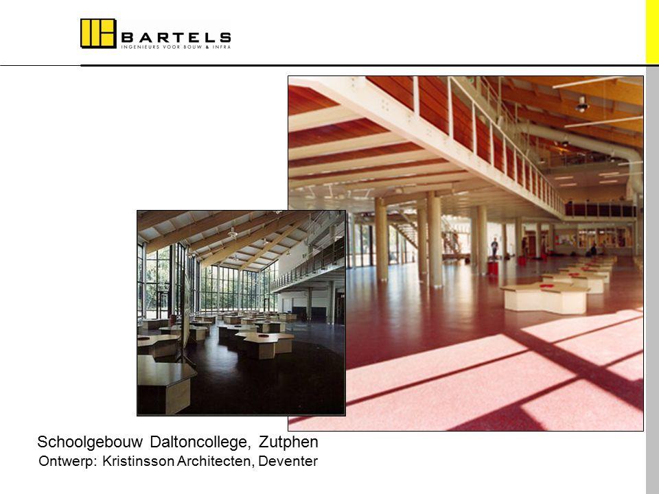 Schoolgebouw Daltoncollege, Zutphen