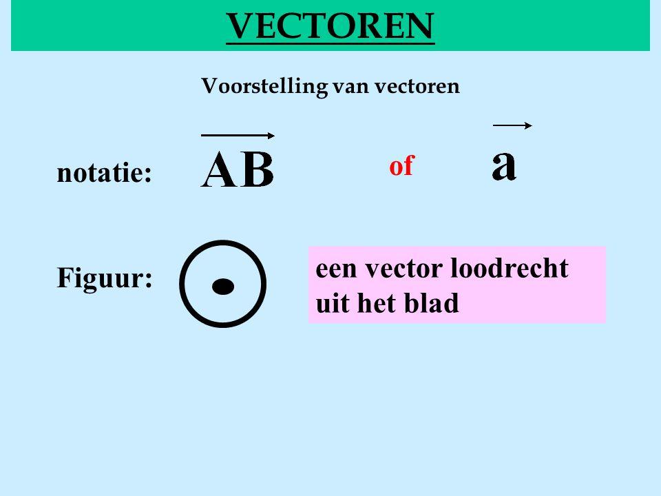 Voorstelling van vectoren