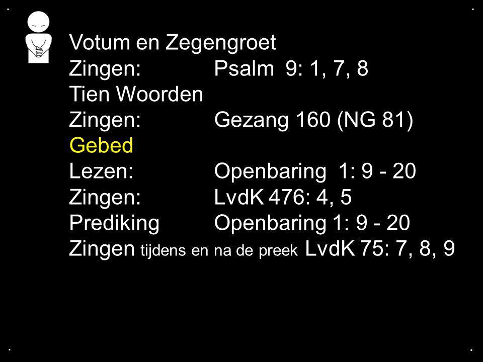 Prediking Openbaring 1: 9 - 20