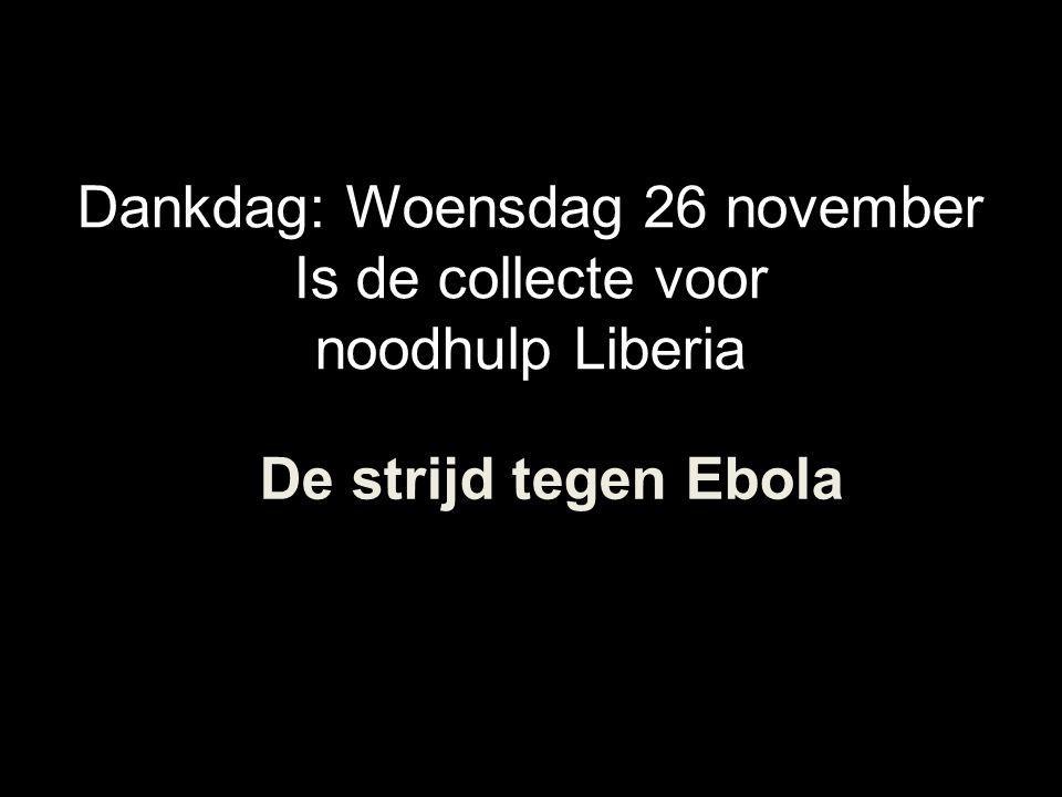 Dankdag: Woensdag 26 november