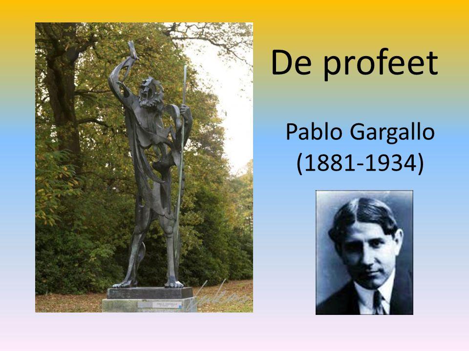 De profeet Pablo Gargallo (1881-1934)