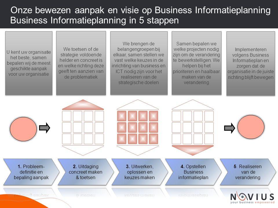 Onze bewezen aanpak en visie op Business Informatieplanning