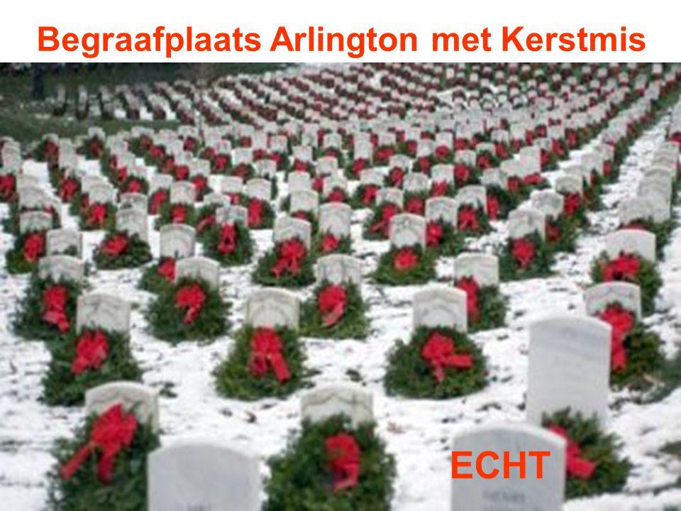 Begraafplaats Arlington met Kerstmis