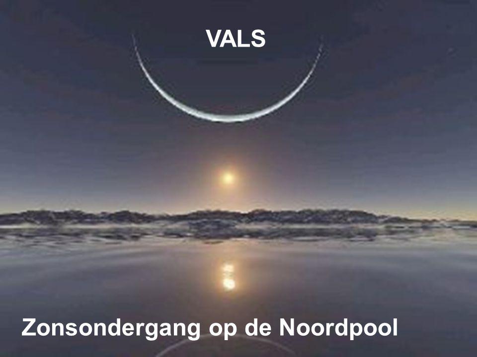 VALS Zonsondergang op de Noordpool