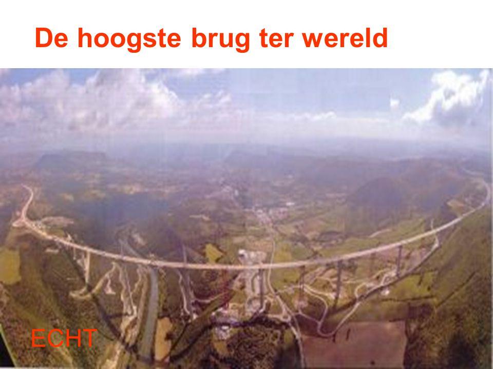 De hoogste brug ter wereld